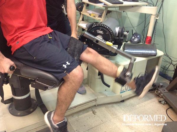 Depormed  Test de rodilla